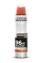 $L'Oreal 150ml deo men Invincible Man 96H