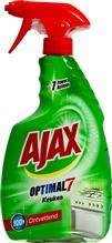 Ajax 750ml Optimal 7 spray na tłuszcz do kuchni