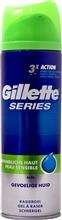 Gillette Series 200ml żel do golenia Sensitive DE