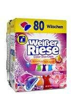 Weisser Riese 80 prań Duo Caps Kolor Orchidee BOX
