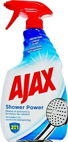 Ajax 750ml Shower Power Spray Do Kabin 2w1 środki