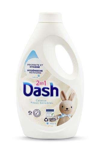 Dash 24 prania żel 2in1 Uniw. Sensitive 1,32l