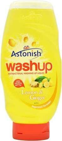 Astonish 600ml Wash-up płyn do naczyń Lemon