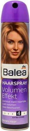 Balea 300ml lakier do wł. Volume Effect 4