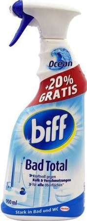 Biff 750+150ml Bad Total spray do łazienek Ocean