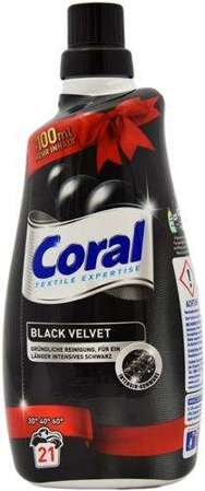 Coral 21 prań płyn do pr. Black Velvet 1,5l