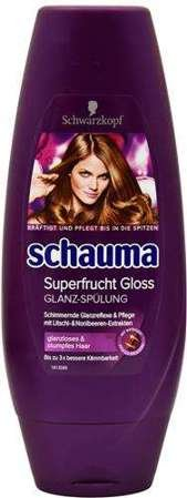 Schauma 250ml odżywka Superfrucht Gloss